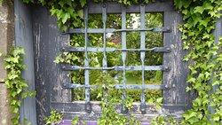 Garden door to a magical world...