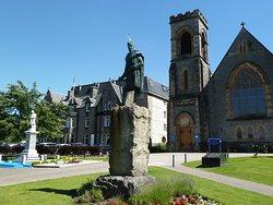 Statue of Donald Cameron