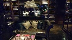 Interior of teh bar