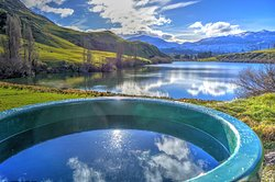 Hot Tub on the Hillside