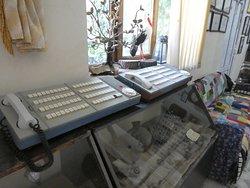 Geräte aus der Telefonzentrale