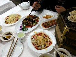 mutton and beef dumplings, biáng biáng noodles