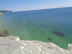 Дикий пляж Сосновка