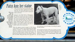 Statue of Patsy Ann, the Dog