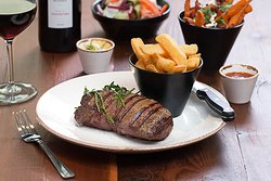The best steak and chips in town!