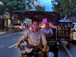 Kim's Phnom Penh Tuk Tuk Service