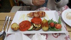 Flavours at the Etno Garden restaurant!!
