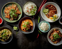 Explore the 5 flavours of Thai!
