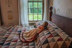 Nye House bedroom