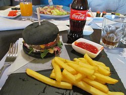 This was my black burger