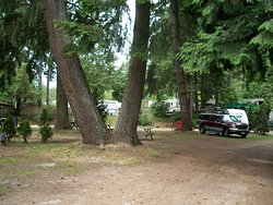 Full-service RV sites - 30-amp power, water & sewer