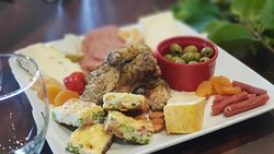 Platters of local produce