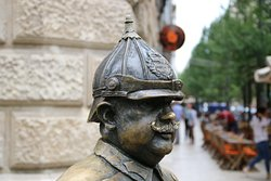The Fat Policeman Statue