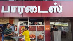 Place for Hyderabadi Biriyani - go for it
