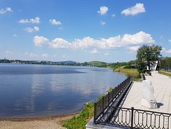 Embankment of Pond of Nizhny Tagil