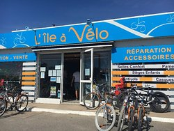 L'île à vélo