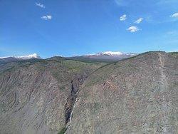 вид на долину Чулышман с перевала Кату- Ярык