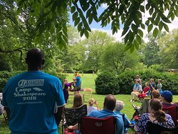Liberty Hall Historic Site hosts Camp Shakespeare every summer.