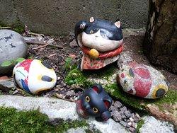 招き猫 美術館in尾道