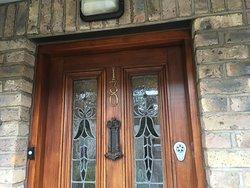 our front door to condo