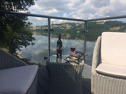 Wonderful lake view and stay