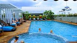 Rooftop swimmingpool