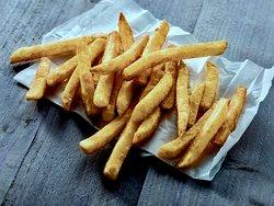 Skin on fries