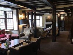 埃文河畔斯特拉特福莎士比亞美居酒店-大堂交誼廳