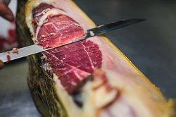 'Jamon Iberico' to start your dinner the Spanish way..