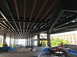 Open-air lobby