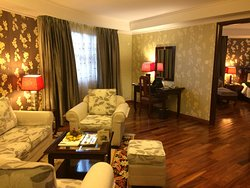 Executive suite lounge room