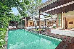 The Elysian, Two Bedroom Pool Villa - Living Area