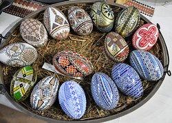 Letitia Orsivschi's Egg Museum