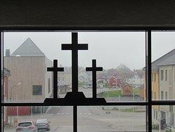 Vardø Kirche Eingang