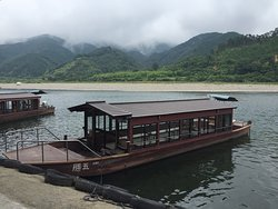 Pleasure Boat in Shimanto River