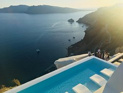 Infinity pool and the views