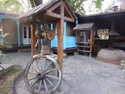 古い家を利用したレストラン