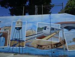 Underpassses and buildings are adorned with exceptional murals