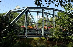 Old Drake Hill Flower Bridge