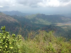 A view of the Ghats from a hilltop above Rajakkad.