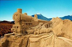 Sandskulpturen Monschau