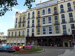 Fachada del Hotel