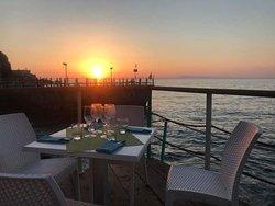 Restaurant seafood... Vista Vulcano