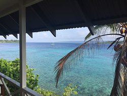 View from Bungalow Balcony