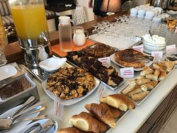 Home made pastries, cakes and sweets. Yum Yum...