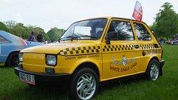 Polski Fiat 126p - Company Mascot ;) Polski Fiat 126p - reklamówka firmy White Eagle Cars