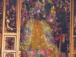 Trang thờ ông Bổn Đầu Công tại miếu Nhị Phủ tọa lạc tại Quận 5 (TpHCM).