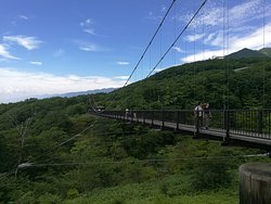 Tsutsuji Suspension Bridge