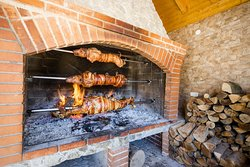 Traditional food preparing