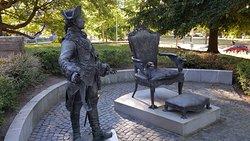 Denkmal Zar Peter III
